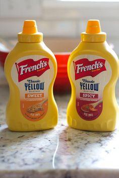Honey Mustard Chicken Pretzel Pockets