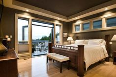 Master Bedroom.  2011 Vancouver Island Care Awards - Silver Award for Best Custom Built Home.  Multiple Award Winning Custom Executive Home in Bear Mountain Resort Golf and Spa Community. Langford - Victoria, BC