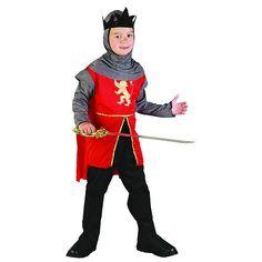 Childrens Boys Medieval Knight Warrior King Crusaderfancy Dress Costume 4 14 Yr | eBay