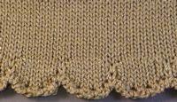 Scalloped Eyelet Hem Tutorial For Machine - Single Bed   Machine Knitting Tutorial