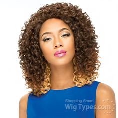 Sensationnel Synthetic Hair Empress Natural Lace Front Edge Wig - MILETT (futura) [10984]