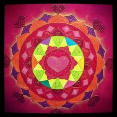 Mandala para activar el amor de pareja y almas gemelas