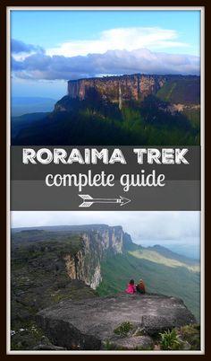 Ultimate hiking guide to mount Roraima, Venezuela