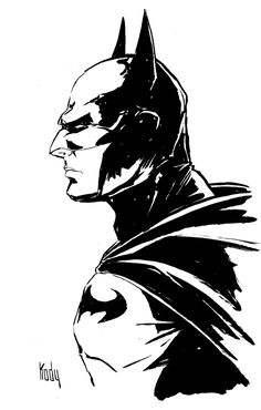 Batman Profile by Kody Chamberlain