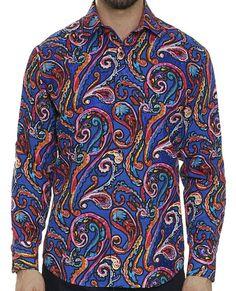 NEW Robert Graham Classic Fit WILD DESERT Numbered Limited Edition Sport Shirt