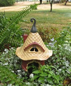 Magical Fairy Toad House For The Garden - How To Make A Toad House For The Garden?