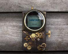 Steampunk Nintendo Game Boy http://geekxgirls.com/article.php?ID=3958