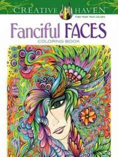 Fanciful Faces Coloring Book Creative Haven By Miryam Adatto Amazon Dp 0486779351 Refcm Sw R Pi 51zOwb169XZRM