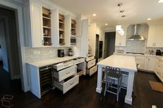 78 - San Clemente Kitchen Remodel with Custom Cabinets & Wood Floor - beach-style - Kitchen - Orange County - APlus Interior Design & Remodeling