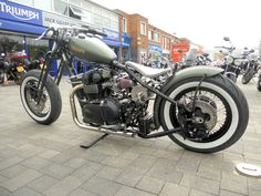 3/4 view of the Bonnie Bobber.