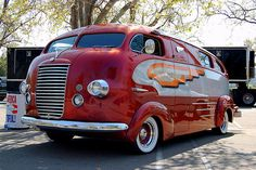 1937 Himsl Zeppelin Roadliner.  Interesting!