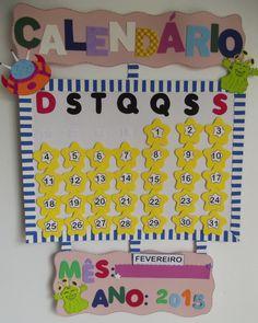 Cartaz - Calendário.