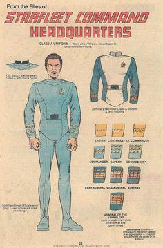 Star Fleet Uniforms