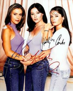 charmed tv series | Charmed Tv Show Cast Signed autographed 8x10 Photo