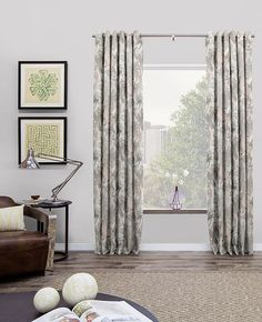 Grommet drapes & curtains offers a crisp, modern look perfect for stylish…