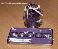Birthday Tin, Tin , Stampin UP , Dose, Butterfly