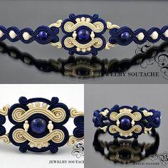 sb_soutache | Iconosquare Soutache Bracelet, Soutache Jewelry, Beaded Jewelry, Beaded Necklace, Jewelry Knots, Boho Jewelry, Handmade Jewelry, Jewelry Design, Prada Clutch