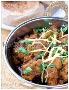 A taste of memories -- Echo's Kitchen: Karahi Chicken (Karahi Murgh)