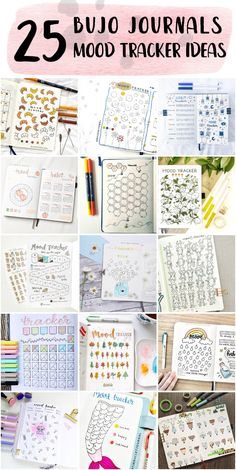 Fun Bullet Journal Mood Tracker Planner Step By Step - Bullet Journal Blank #printablebulletjournal #bulletjournalbeginning #whatisabulletjournal Bullet Journal Beginning, Bullet Journal Mood Tracker Ideas, Bullet Journal For Beginners, Journal Ideas, Bullet Journal Minimalist, Wise One, Blank Journal, Fun At Work, Healthier You
