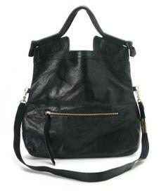 Foley Corinna Mid City Black Shoulder Bag at W Concept
