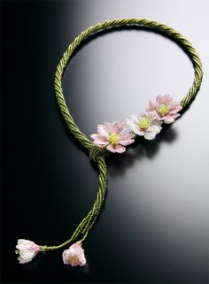 Beaded jewelry by Masako Saito