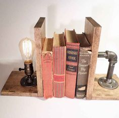I love these bookends! Community: 16 Cool Must-Haves For The Budding Author