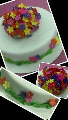 Flowers cake!
