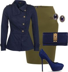 """""""Military Wife"""" by somanysparkles on Polyvore"""