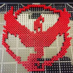 Team Valor - Pokemon perler beads by anchorpointcreative