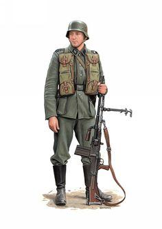 Soldado de la SS Das Reich