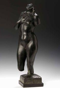 Female torso // sculpture by Aristide Maillol (1861-1944)