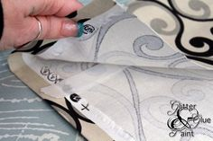 REALLY detailed tutorial using stitch witchery for no-sew curtains!