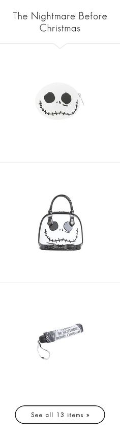 """The Nightmare Before Christmas"" by pierce-the-sunflower ❤ liked on Polyvore featuring accessories, beauty products, nail care, nail polish, bags, hats, beanies, beanie caps, beanie cap hat and beanie hat"