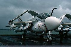 151802/AB-506 - A-6E Intruder - US Navy / VA-34 - USS John F Kennedy - Portsmouth - 23-Oct-76