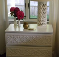 I love this fretwork overlay!!    ((GORGEOUS SHINY THINGS: Our Secret Project Revealed))