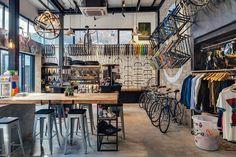 Factory 5 bike shop, Shanghai, 2014 - LINEHOUSE - looks like my version of heaven