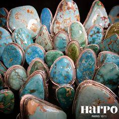 Harpo Bijoux © #bagueturquoise #bijouxamérindiens
