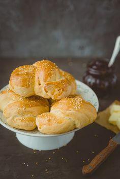 W Kuchni Wieczorem - blog kulinarny, mini-challah, chałeczki