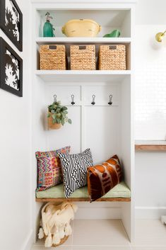 Laundry Room Makeover Reveal | Mudroom Laundry Room Combo Ideas