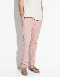 LINEN-COTTON TROUSERS - Trousers - ZARA United States