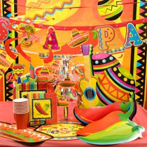 Fiesta: Spicy hot colors will bring fun to any party. Also great for Cinco De Mayo! Grad Parties, Summer Parties, Summer Fun, Salsa Party, Fiesta Party, Bridal Lingerie Shower, Bridal Shower, 40th Party Ideas, Latin Party
