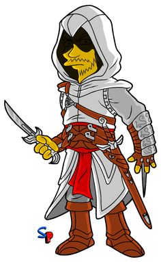 The Simpsons Altair mashup! awesomeness from springfield punx #assassinscreed