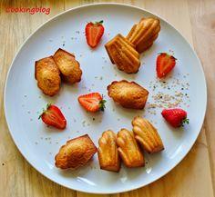 Cooking: Madalenas de morango e sésamo | Strawberry and sesame madeleines