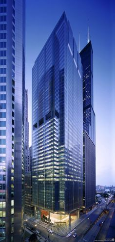 111 South Wacker Tower, Chicago by Goettsch Partners