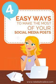 4 Easy Ways to Make the Most of Your Social Media Posts Social Media Impact, Power Of Social Media, Social Media Trends, Social Media Marketing Business, Content Marketing, Digital Marketing, Internet Marketing, Marketing Articles, Chat Post
