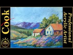 Paint an Acrylic Landscape you can be Proud of with Ginger Cook