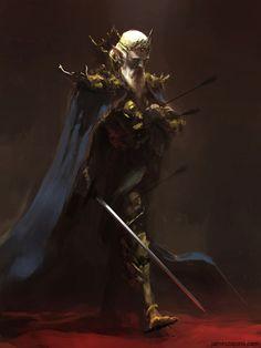 Conselheiro Vorus Mestre da Guilda dos Paladinos da Natureza