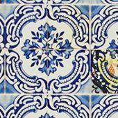 Carnets Andalous, Patio cobalt PCL015/01