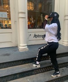 Tomboy Fashion, Nike Fashion, Streetwear Fashion, Fashion Outfits, Tomboy Style, Fashion Women, Fashion Ideas, Black Men Street Fashion, Cute Comfy Outfits