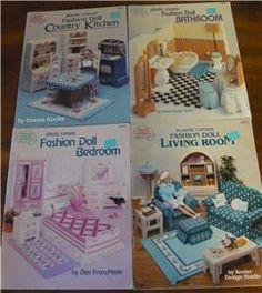 free crochet barbie furniture patterns!